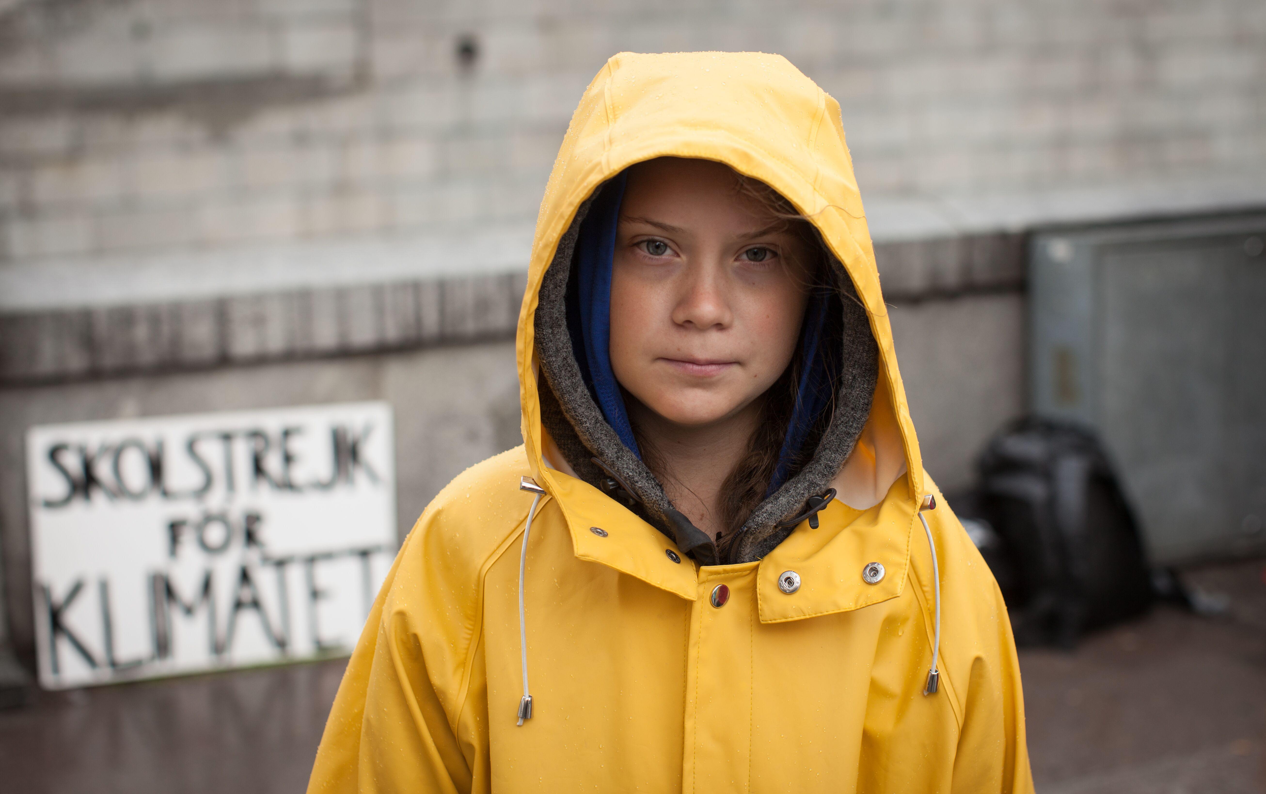 Greta Thunberg, (c) Andreas Hellberg