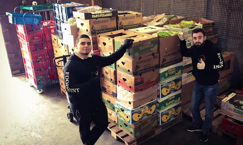 Freiwillige Helfer bei der Lebensmittelrettung Österreich