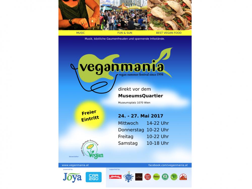 Weltgrößtes veganes Spiegelei beim Veganmania-Festival im