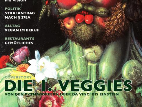 Die 1. Veggies waren Coverstory in Magazin Nr. 13