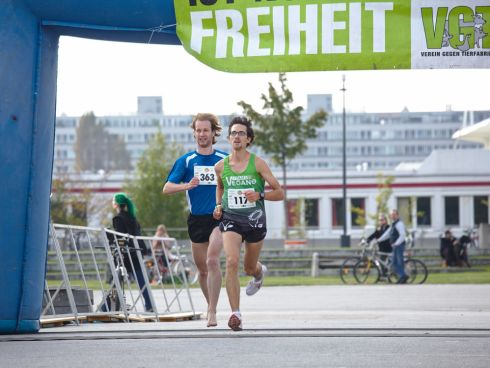 Titelverteidiger Thomas Unger vom Team Vegan.at