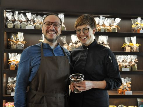 Martina  und Alex Dellantonio vom Xcoolat