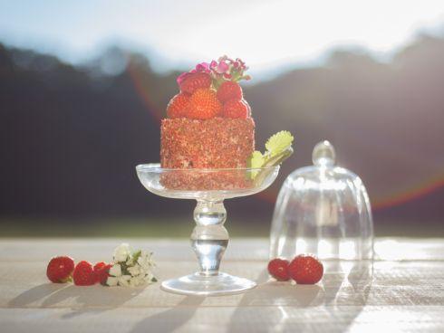Cremiger Erdbeer-Becherkuchen