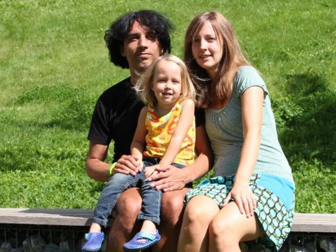 Kath, Chris und Enio