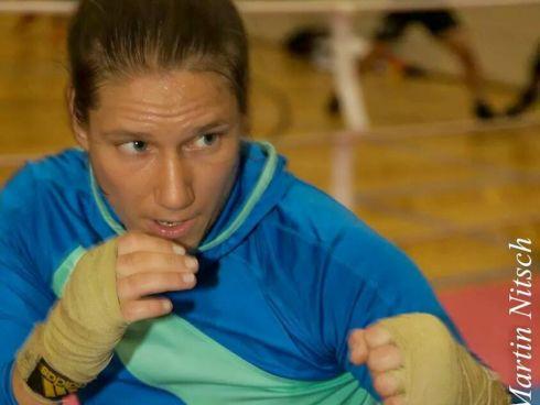 Boxerin Melanie Fraunschiel