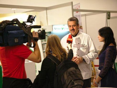 ORF interviewt Siegi und Melanie Kröpfl
