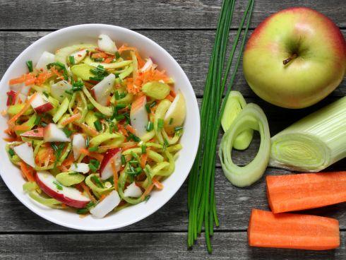 Gemüse und Obst als Basis