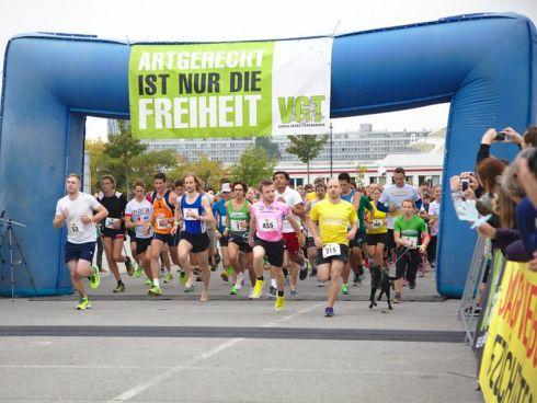 Über 600 motivierte Läufer_innen waren am Start