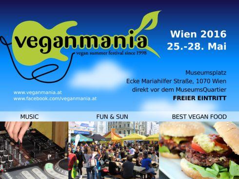 Veganmania Flyer