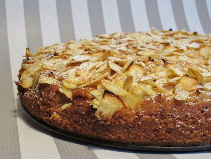 Apfel Marzipan Kuchen Vegane Gesellschaft Osterreich