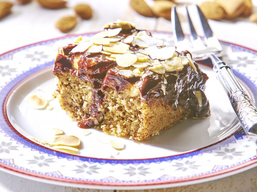 Schoko Mandel Kuchen Vegane Gesellschaft Osterreich