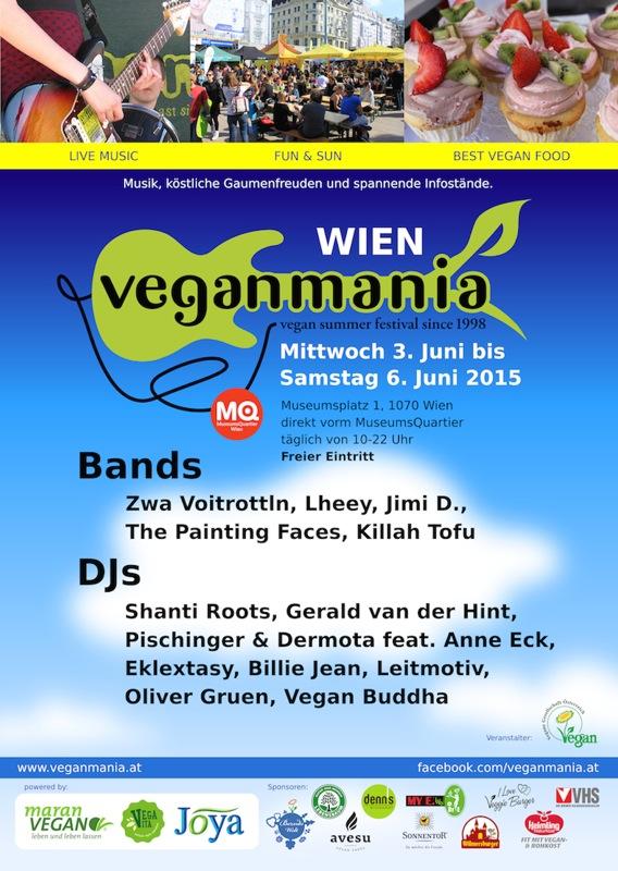 Veganmania Poster