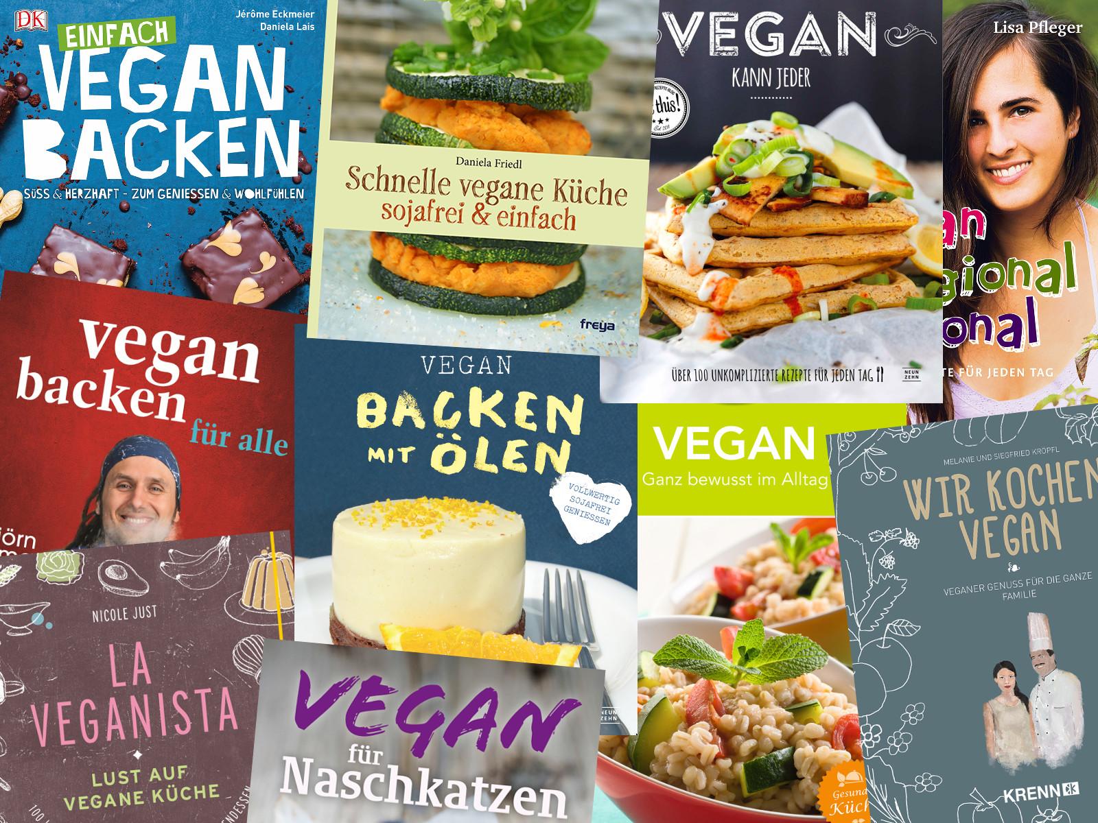 10 ausgezeichnete vegane Koch- und Backbücher