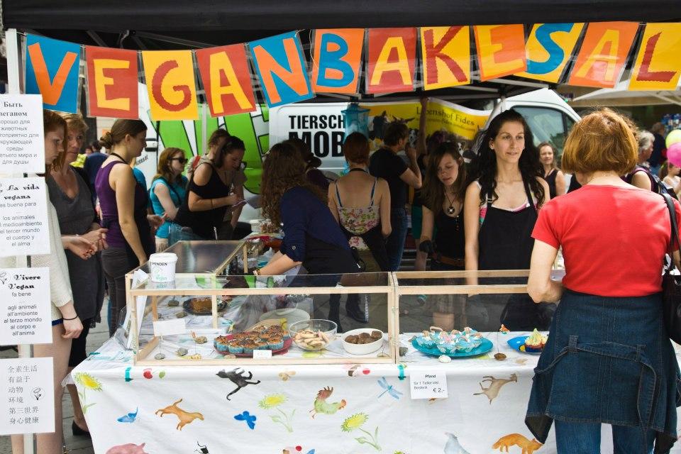 Vegan Bake Sale Wien, 2013