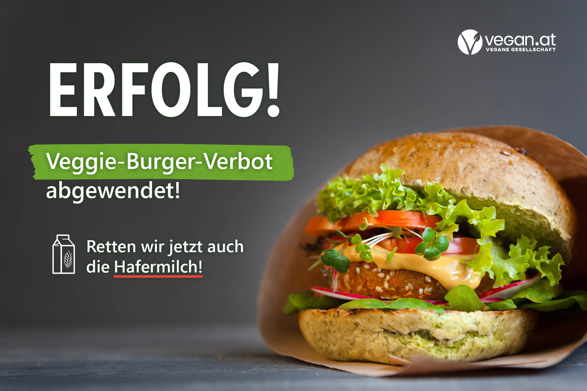 veggie burger verbot